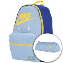 39a67b0f6 Mochila Nike Halfday Grap - Infantil - Azul/Amarelo