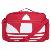 72a05930e Bolsa Adidas Originals Airliner Canvas Vermelha Masculi