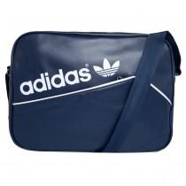 ae4c0b8ec Bolsa Adidas Originals Airliner Stan Smith Azul Masculi