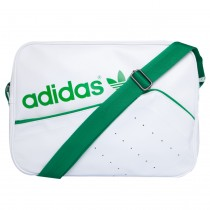 2a5e54fe3 Bolsa Adidas Originals Airliner Stan Smith Branca Mascu